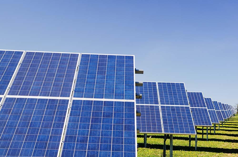 Economie d'énergie avec des panneaux solaires